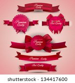 set of superior quality and... | Shutterstock .eps vector #134417600