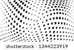 halftone gradient pattern.... | Shutterstock .eps vector #1344223919