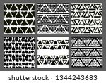 painted patterns. seamless... | Shutterstock .eps vector #1344243683