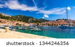 view at amazing archipelago... | Shutterstock . vector #1344246356