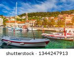 colorful scenery in... | Shutterstock . vector #1344247913