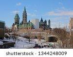 ottawa  canada  february 16 ... | Shutterstock . vector #1344248009