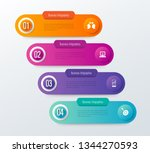 infographics design vector and... | Shutterstock .eps vector #1344270593