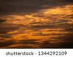 dramatic sunset and sky | Shutterstock . vector #1344292109