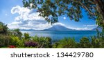 Panoramic View Of Lake Atitlan...