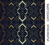 vector modern geometric tiles... | Shutterstock .eps vector #1344311096