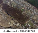 aerial view of the saburb... | Shutterstock . vector #1344332270