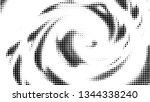 halftone gradient pattern.... | Shutterstock .eps vector #1344338240