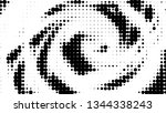 halftone gradient pattern.... | Shutterstock .eps vector #1344338243