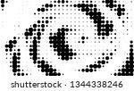 halftone gradient pattern.... | Shutterstock .eps vector #1344338246