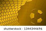 football or soccer background... | Shutterstock .eps vector #1344344696