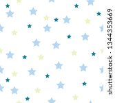seamless pattern with stars... | Shutterstock .eps vector #1344353669