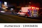 An Ambulance Speeding Through...