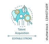 Talent Acquisition Concept Ico...