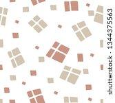 seamless white vector pattern... | Shutterstock .eps vector #1344375563