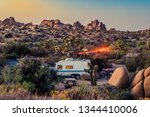 Image Of A Campground At Joshua ...