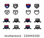 various interstate and route...   Shutterstock .eps vector #134443100