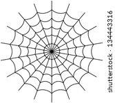 cobweb vector | Shutterstock .eps vector #134443316
