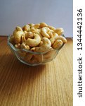 cashew nuts close up | Shutterstock . vector #1344442136
