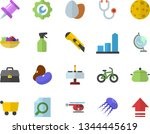 color flat icon set repair flat ...   Shutterstock .eps vector #1344445619