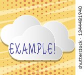 text sign showing example.... | Shutterstock . vector #1344481940
