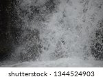 isolated waterfall in tropics | Shutterstock . vector #1344524903