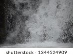 isolated waterfall in tropics | Shutterstock . vector #1344524909