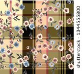 fashionable pattern in small... | Shutterstock .eps vector #1344555800