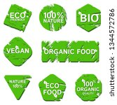 logos for brands of natural...   Shutterstock .eps vector #1344572786