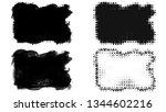 set of brush stroke and... | Shutterstock . vector #1344602216