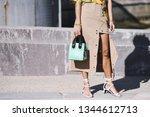 paris  france   february 27 ... | Shutterstock . vector #1344612713