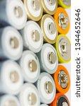 alkaline batteries multi... | Shutterstock . vector #1344652646