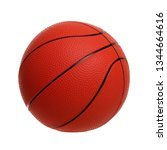 basketball toy isolated on a... | Shutterstock . vector #1344664616