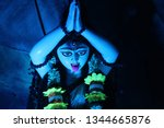 kali  also known as k lik  or...   Shutterstock . vector #1344665876