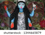 kali  also known as k lik  or...   Shutterstock . vector #1344665879