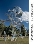Small photo of Windmills as part of the Cobb and Co Museum in Toowoomba