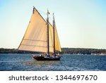Backlit Sails Of Vintage...