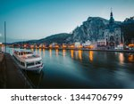 classic view of the historic... | Shutterstock . vector #1344706799