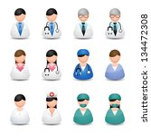medical people | Shutterstock .eps vector #134472308