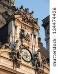 Clock Of The Paris Town Hall I...