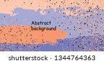 trendy multicolored stripes... | Shutterstock .eps vector #1344764363