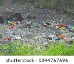 truk pasir merapi   kali gendol ...   Shutterstock . vector #1344767696