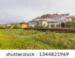china tibet potala palace   Shutterstock . vector #1344821969