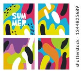 abstract summer pattern for...   Shutterstock .eps vector #1344825689