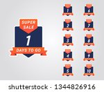 sale days left countdown vector ...