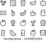 bold stroke vector icon set  ... | Shutterstock .eps vector #1344851063