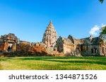 phanom rung historical park is... | Shutterstock . vector #1344871526