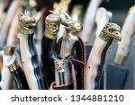 rethymno  crete  greece  ... | Shutterstock . vector #1344881210