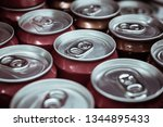 soft drink cans | Shutterstock . vector #1344895433
