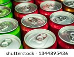 soft drink cans | Shutterstock . vector #1344895436